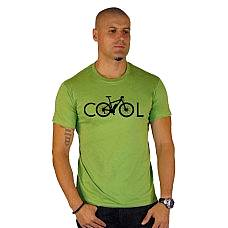 T-SHIRT ΑΝΔΡΙΚΟ, TAKEPOSITION, COOL BIKE, KIWI, 307-5500