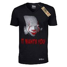 T-SHIRT V NECK ΑΝΔΡΙΚΟ, TAKEPOSITION, IT WANTS YOU, ΜΑΥΡΟ, 308-8006