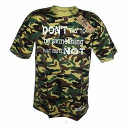 T-SHIRT ΑΝΔΡΙΚΟ, TAKEPOSITION, COMMANDO, ΒΕ SOMETHING, 310-5006