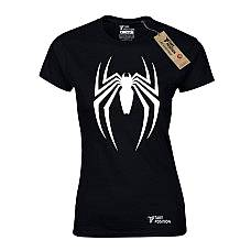 T-SHIRT ΓΥΝΑΙΚΕΙΟ, TAKEPOSITION, SPIDER ATTACK, ΜΑΥΡΟ, 504-1003
