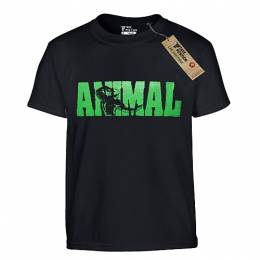 T-SHIRT ΠΑΙΔΙΚΟ, TAKEPOSITION, TP-ANIMAL, ΜΑΥΡΟ, 801-5502